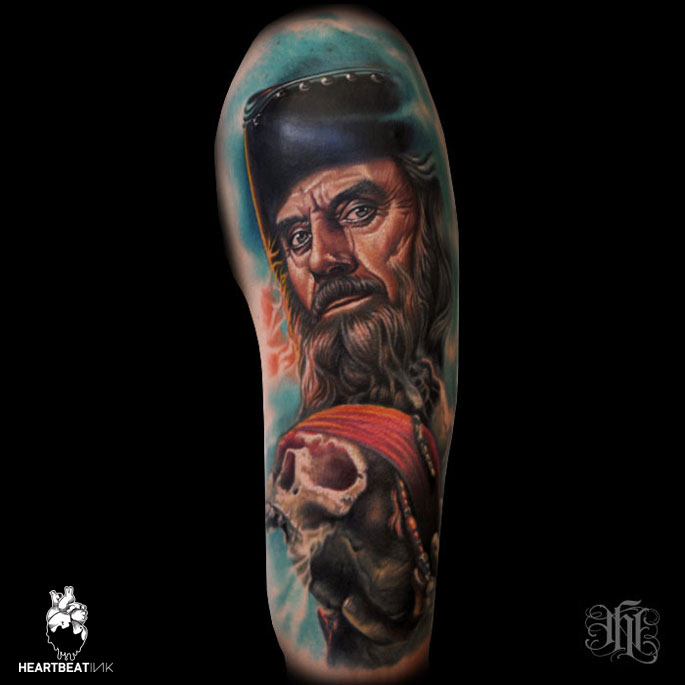 Nikko hurtado heartbeatink tattoo magazine for Black anchor collective tattoo
