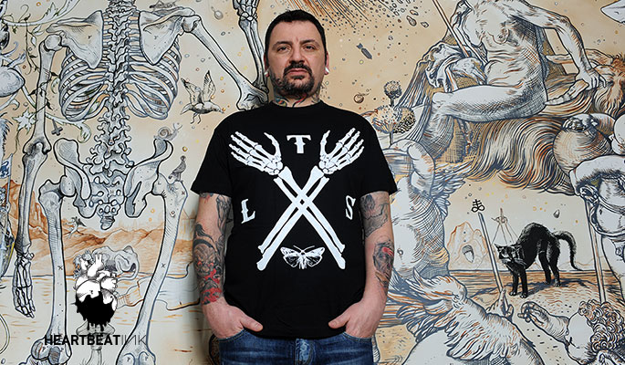 acd19413d7ecc Lonis, aka Leonidas Skiadas, known for his distinctive painting style,  spoke to HeartbeatInk Tattoo Magazine about his artistic past, his love of  classic ...