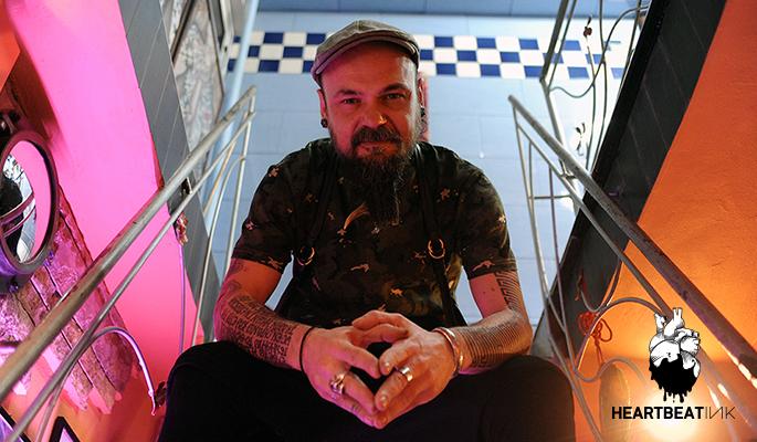 cf4090b0c2fbf The unique Kostas Pliakas spoke to HeartbeatInk Tattoo Magazine for the  tremendous love he has for the tattoo, the magic of geometric tattoo, ...