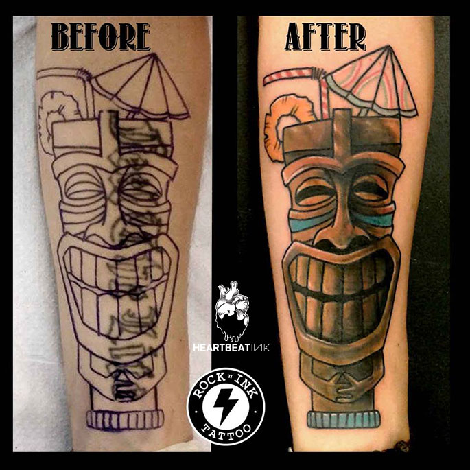Cover up tattoos heartbeatink tattoo magazine for Clean rock one tattoos