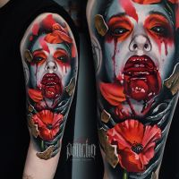 Tattoo by Alex Pancho