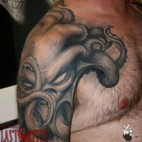 Tattoo by Paul Booth / Last Rites Tattoo Theatre