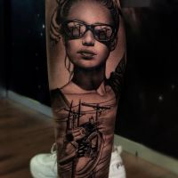 Tattoo by Christian Marin