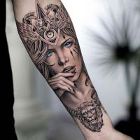 Tattoo by Daniel Silva