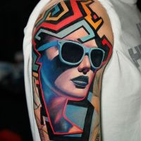 Tattoo by Dave Paulo