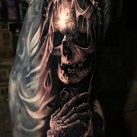 Tattoo by Dom Brown