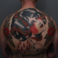 Tattoo by Hans Heggum