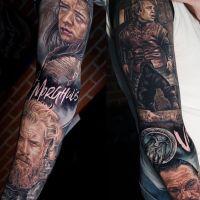 Tattoo by Jordan Croke