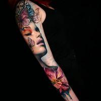 Tattoo by Sandra Dauksh
