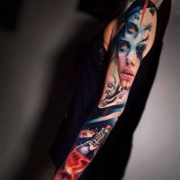 Tattoo by Sandra Dauksh