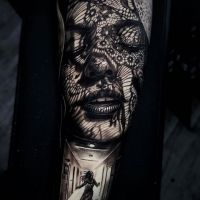 Tattoo by Herman Yepes