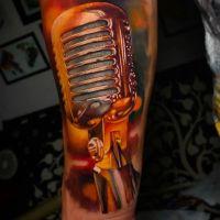 Tattoo by Pablo Frias
