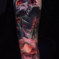 Tattoo by Phil Garcia