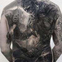 Tattoo by Stefan Muller
