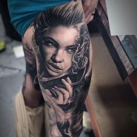 Tattoo by Thomas Martinez