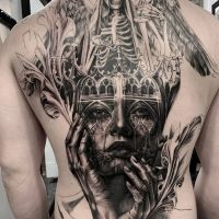 Tattoo by Tony Mancia