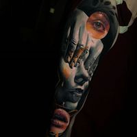 Tattoo by Waler Montero