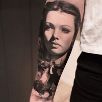 Tattoo by Thomas Carlijarlier