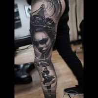 Tattoo by Yarson