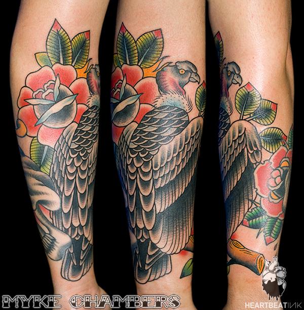 Condor tattoo myke chambers