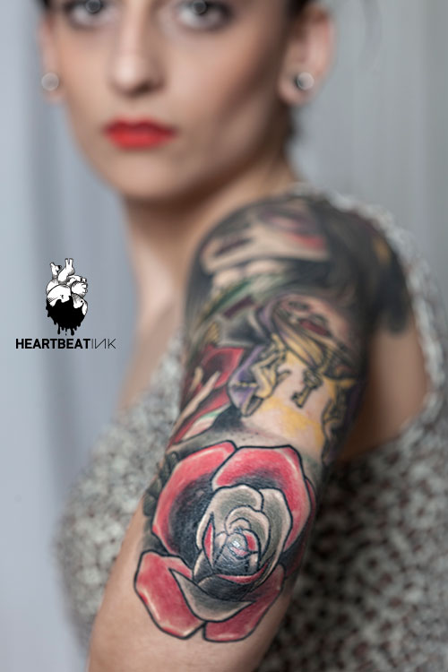Kiki kiko heartbeatink tattoo magazine for Kiki tattoo artist